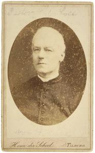 Portret van waarschijnlijk van der Lee