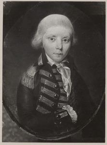 Portret van een jongen, mogelijk koning Willem I (1772-1843) als kind