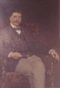 Portret van Abraham Louis Teixeira de Mattos (1839-1908)