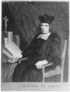 crucefixPortret van Joannes de Groot (1640-1692)