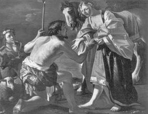 Granida ontvangt een schelp met water van Daifilo