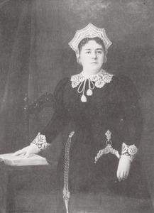 Portret van Elisabeth Christina Poelman (1850-1930)