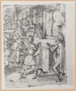 De H. Giovanni Gualberto en het wonderbaarlijke kruisbeeld