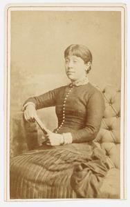 Portret van mej. Agatha Kops (1857-1887)