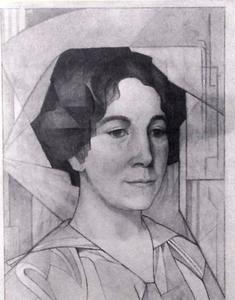 Portret van Mies Drabbe (1875-1956)