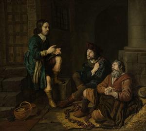 Jozef legt de dromen van de schenker en de bakker uit in de gevangenis  (Genesis 40:5-19)