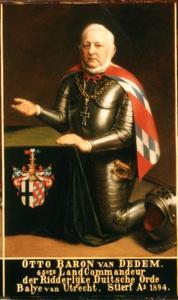 Portret van Otto baron van Dedem