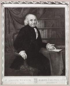 Portret van Adolf Werner van Pallandt (1727-1803)