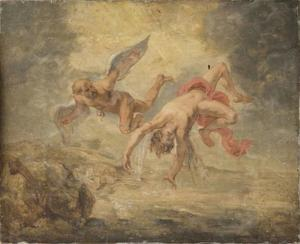 De val van Icarus (Ovidius, Metamorfosen, VIII, 183-235)