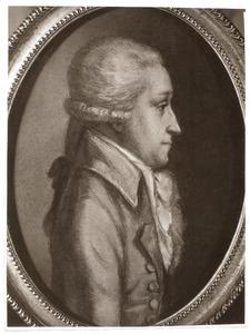 Portret van Franciscus Antonius Augustinus van Lanschot (1768-1851)