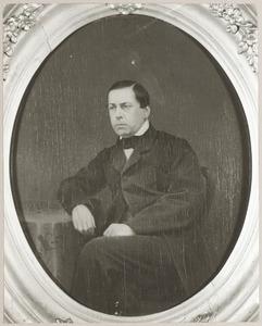 Portret van waarschijnlijk Gerardus Johannes Hermanus de Roo (1826-1886)