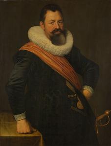Portret van Jochem Hendricksz. Swartenhondt (1566-1627)