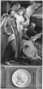De HH.Mattheus en Marcus met Jacobus de Meerdere