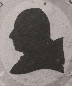 Portret van Gerard Godard Taets van Amerongen ( -1804)