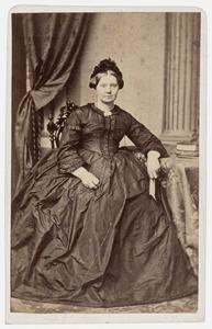 Portret van Sjoerdtje Wierdina van Haersma de With (1824-1866)