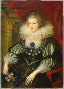 Portret van Anna van Habsburg (1601-1666)
