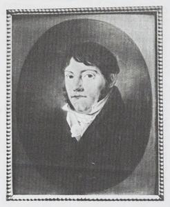 Portret van Hendrik Jan van de Graaff (1779-1827)