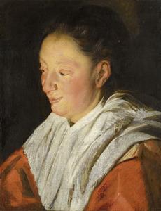 Portret van Catharina van Noort (1595-1659), echtgenote van de kunstenaar
