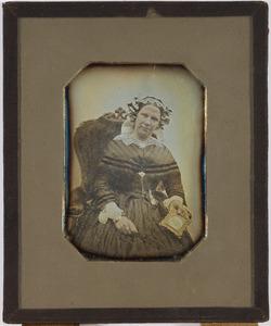 Portret van Maria Sibille König (1810-1885)