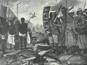 Nederlands Oost Indië (?) en zijn bewoners
