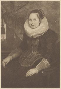 Portret van Maria van Ghinderdeuren ( -1664)