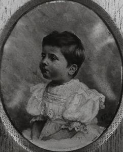 Portret van Diego Johan Louis Teixeira de Mattos (1896-1907)