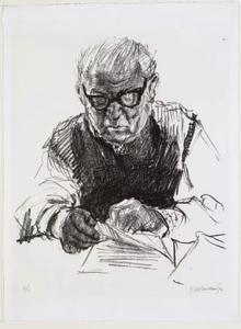 Portret van Cornelis van Eesteren (1897-1988)