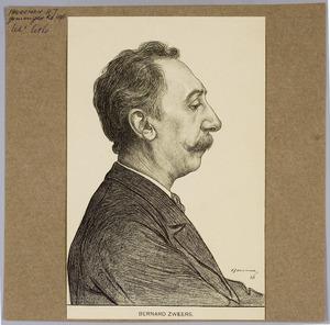 Portret van Bernard Zweers