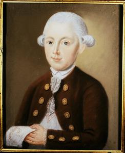 Portret van Joost Pieter Thomassen A Thuessink (1767-1792)