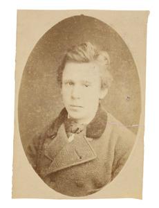 Portret van Justinus Donkersloot (1860-1889)