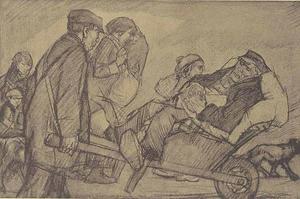 Vluchtelingen uit België 1914