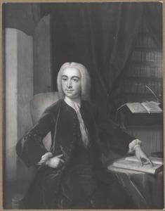 Portret van Meynard van Visvliet (1708-1769)