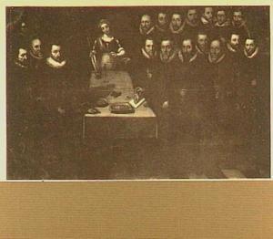 Waardijn, beambten en meester-munters van de Munt van Holland