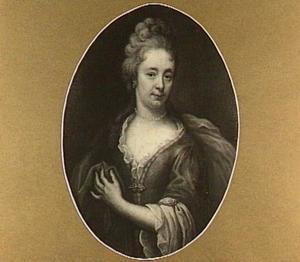 Portret van een vrouw, wellicht Mevr. Goodschalk