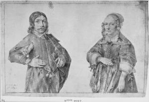 Dubbelportret van een broer en zus, mogelijk de kinderen van Roeland Govertsz. van Haften en Johanna Roch