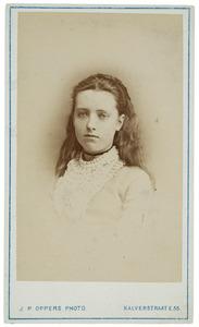 Portret van Louise Egidius (1859-1927)