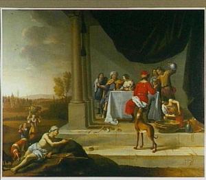 De gelijkenis van de rijke man en de arme Lazarus (Lucas 16: 19-21)