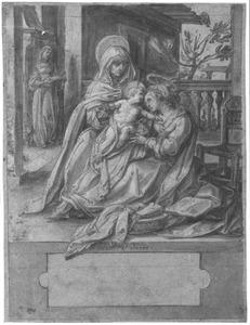 Maria met kind en de heilige Anna