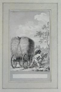 Illustratie bij 'De sprinkhaan' uit de Fabelen en vertelsels van F.C. Gellert