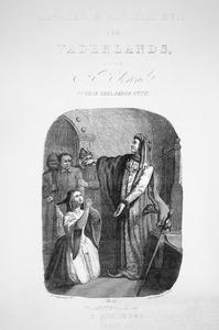 Karel de Stoute rechtsprekend te Vlissingen.