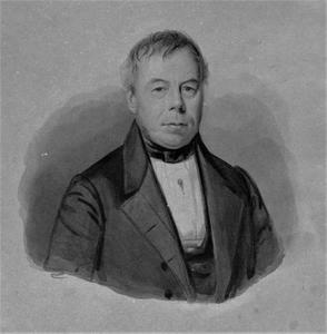 Portret van Abraham Cornelis Hartevelt (1784-1850)