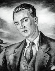 Portret van een man, mogelijk de dichter Beesemer (?-?)