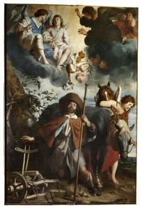 De hemelse uitverkiezing van de H. Guido van Anderlecht