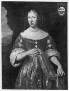 Portret van Elisabeth Lestevenon (1642-1710)