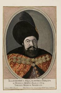 Portret van Vasile Lupu (1595-1661)