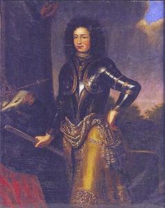 Portret van koning Karl XI (1655-1697)