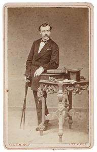Portret van Dirk Beets (1842-1916)