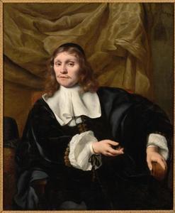 Portret van Pieter Burgersdijk (1623-1691)