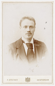 Portret van Willem Kalff (1868-1941)