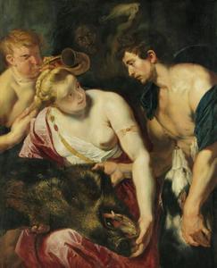Meleager en Atalanta